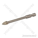 Tile & Glass Drill Bit Hex Shank - 8mm