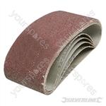 Sanding Belts 75 x 457mm 5pk - 40 Grit