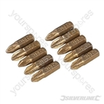 Phillips Diamond Screwdriver Bits 10pk - PH2