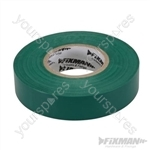 Insulation Tape - 19mm x 33m Green
