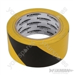 Hazard Tape - 50mm x 33m Black/Yellow