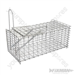 Rat Cage Trap - 300 x 150 x 130mm