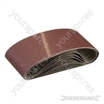 Sanding Belts 100 x 610mm 5pk - 60 Grit