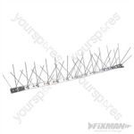 Stainless Steel Bird Spikes 10pk - 500mm (4 Spike)