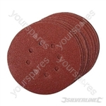 Hook & Loop Discs Punched 150mm 10pk - 150mm 60 Grit