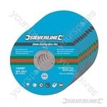 Stone Cutting Discs Flat 10pk - 115 x 3 x 22.23mm