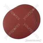 Hook & Loop Discs 250mm 10pk - 250mm 80 Grit