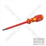 King Dick VDE Slotted Screwdriver - 5.5 x 125mm