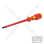 King Dick VDE Slotted Screwdriver - 6.5 x 150mm