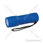 LED Soft-Grip Torch - 9 LED