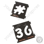 Numbering Sign Kit 31pce - 31pce