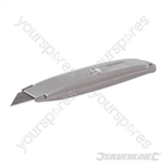 Retractable Knife - 150mm Silver