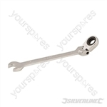 Flexible Head Ratchet Spanner - 10mm