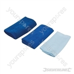 Microfibre Cloth Cleaning Set 3pce - 3pce