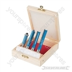 Kitchen Router Bit Set 4pce - 12 & 8mm