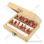 8mm TCT Router Bit Set 12pce - 8mm