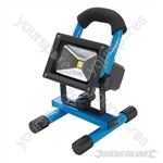 LED Rechargeable Site Light with USB - 10W UK