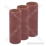 140mm Bobbin Sleeves 3pk - 38mm 80 Grit
