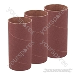 114mm Bobbin Sleeves 3pk - 51mm 60 Grit