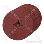 Fibre Discs 125 x 22.23mm 10pk - 24 Grit
