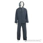 """Rain Suit Blue 2pce - M 72 - 126cm (28 - 50"""")"""