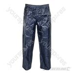 "Lightweight PVC Trousers - L 86cm (34"")"
