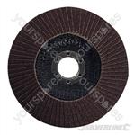 Aluminium Oxide Flap Disc - 125mm 80 Grit