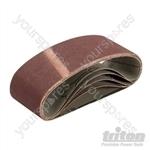 Sanding Belt 64 x 406mm 5pk - 120 Grit
