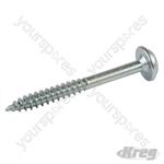 "Zinc Pocket-Hole Screws Washer Head Fine - No.7 x 1-1/2"" 500pk"