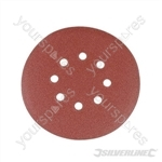 Hook & Loop Discs Punched 150mm 10pk - 150mm 40 Grit