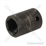 "Impact Socket 1/2"" Drive 6pt Metric - 19mm"