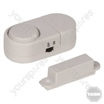 Magnetic Door & Window Alarm - 3 x 1.5V