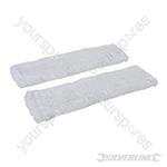 Window & Glass Cleaner Microfibre Cloth 2pk - 250mm Microfibre Cloths 2pk