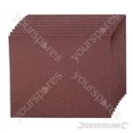 Emery Cloth Sheets 10pk - 120 Grit