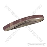 Sanding Belts 10 x 330mm 5pk - 80 Grit