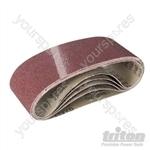 Aluminium Oxide Sanding Belt 5pk - TAS40G Sanding Belt 5pk 40G