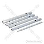 Monobloc Back Nut Tap Spanner 5pce - 8/9, 9/11, 10/11 & 12/13mm