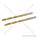 HSS Titanium-Coated Drill Bits 2pk - 4.0mm