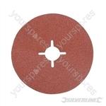 Fibre Discs 125 x 22.23mm 10pk - 60 Grit