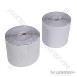 Hook & Loop Tape White Self-Adhesive 2pce - 100mm x 5m