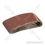 Sanding Belts 75 x 533mm 5pk - 80 Grit