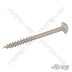 Heavy Duty Pocket-Hole Screws Washer Head Coarse - 64mm 125pk
