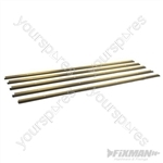 Heavy Duty Around Door Seal - 4 x 1029mm & 1 x 914mm Gold