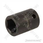 "Impact Socket 1/2"" Drive 6pt Metric - 18mm"