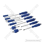 Engineers Screwdriver Set 12pce - 12pce