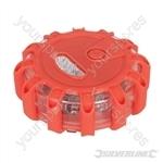 LED Red Beacon Light - 15 LED