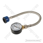 Mains Water Pressure Test Gauge - 0-11bar (0-160psi)