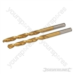 HSS Titanium-Coated Drill Bits 2pk - 5.5mm