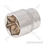 "Socket 1/2"" Drive 6pt Imperial - 1-1/8"""