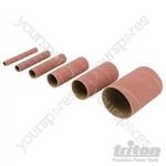 Aluminium Oxide Sanding Sleeves 6pce - TSS240G Sanding Sleeves 6pce 240G